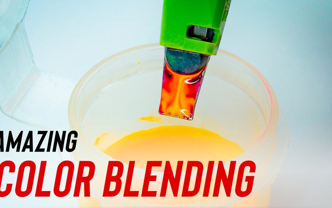 AMAZING INK COLOR BLENDING TUTORIAL