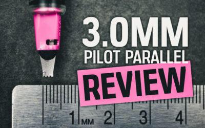 NEW Pilot Parallel Pen: 3.0mm Pen Review